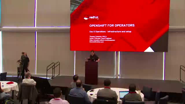 OpenShift for operators: Deployment and operation