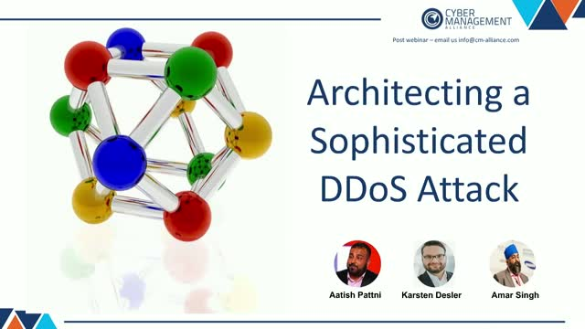 Architecting a Sophisticated DDoS Attack in 5 steps