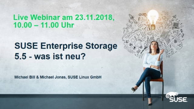 SUSE Enterprise Storage 5.5 - was ist neu?