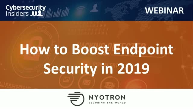 How to Boost Endpoint Security in 2019