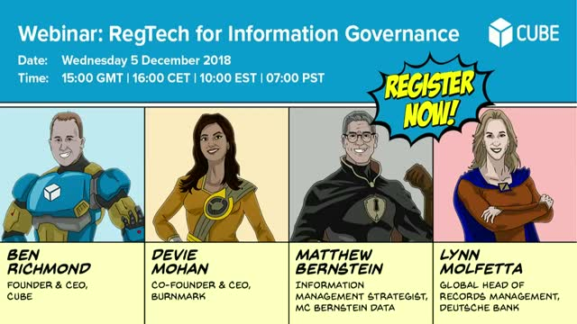 RegTech for Information Governance
