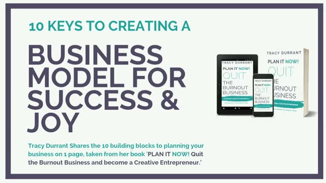 10 Keys to Creating a Business Model for Success & Joy