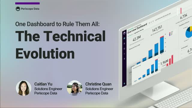 One Dashboard to Rule Them All: The Technical Evolution