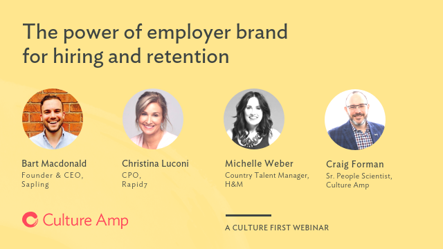 The power of employer brand for hiring and retention