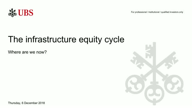 The infrastructure equity cycle: where are we now?