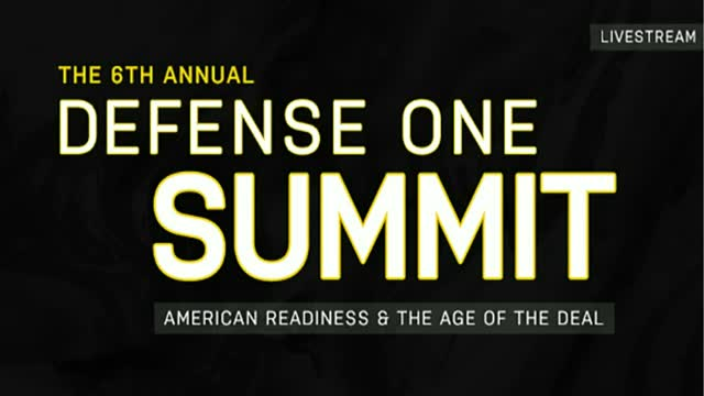 Defense One Summit 2018 Livestream