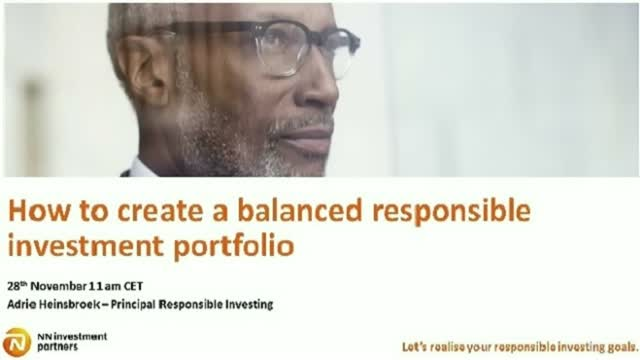 How to create a balanced responsible investing portfolio