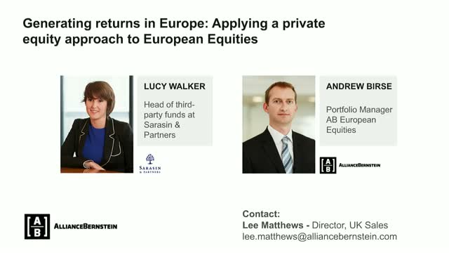 APPLYING A PRIVATE EQUITY-LIKE APPROACH TO EUROPEAN EQUITY INVESTING