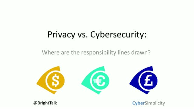 Privacy vs. Cybersecurity: Where the lines are drawn