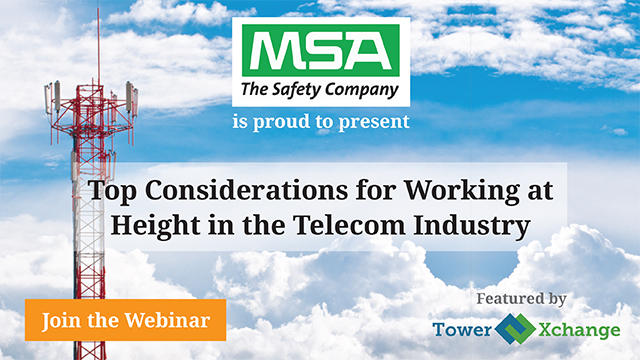 Top Considerations for Working at Height in the Telecom Industry