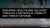 Ensuring Healthcare Delivery through Complete Visibility & Threat Defense