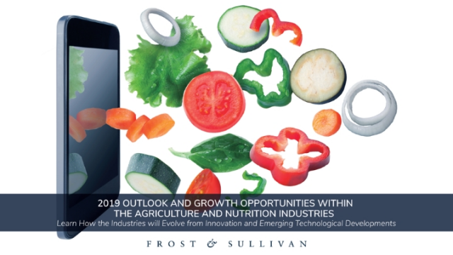 2019 Outlook and Growth Opportunities within Agriculture and Nutrition Industry