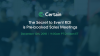 The Secret to Event ROI is Pre-booked Sales Meetings