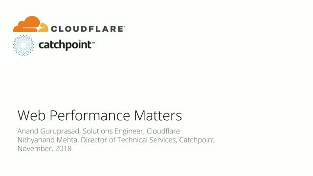 Web Performance Matters: Challenges, Solutions, Best Practices