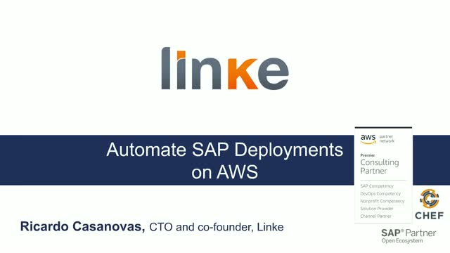 How to Improve Cloud Practices and Automate SAP Deployments on AWS