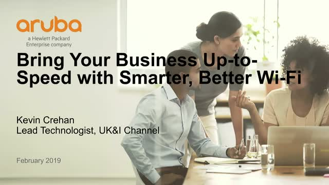 Bring Your Business Up-to-Speed with Smarter, Better Wi-Fi