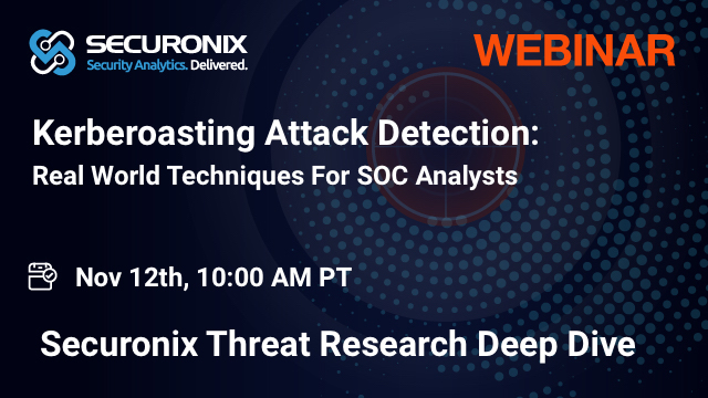 Kerberoasting Attack Detection For SOC Analysts