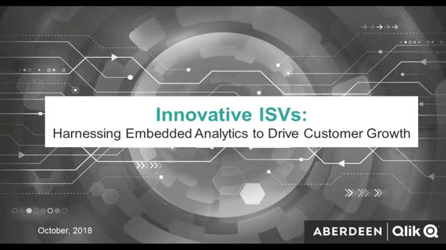 Innovative ISVs: Harnessing Embedded Analytics to Drive Customer Growth