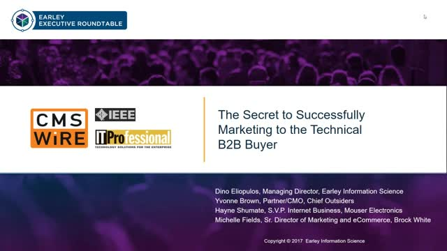 The Secret to Successful Marketing to the Technical B2B Buyer