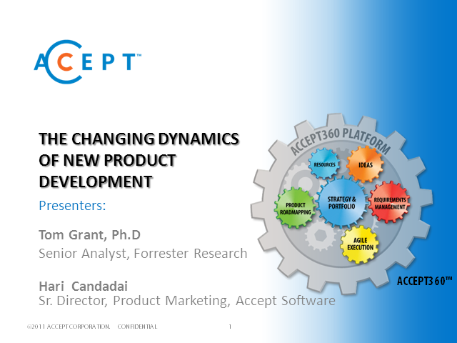 The Changing Dynamics of New Product Development