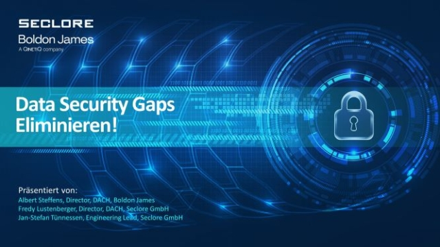 Data Security Gaps Eliminieren! – 5 Innovative Lösungen