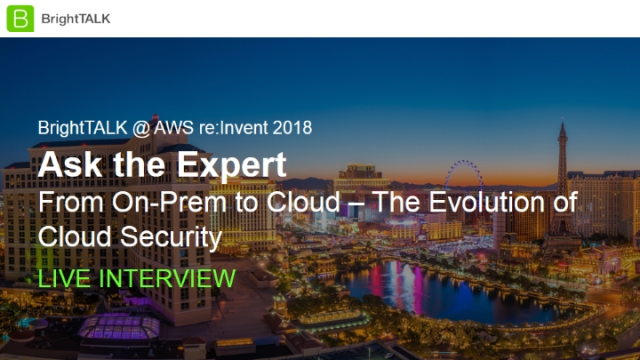 Ask the Expert: From On-Prem to Cloud - The Evolution of Cloud Security