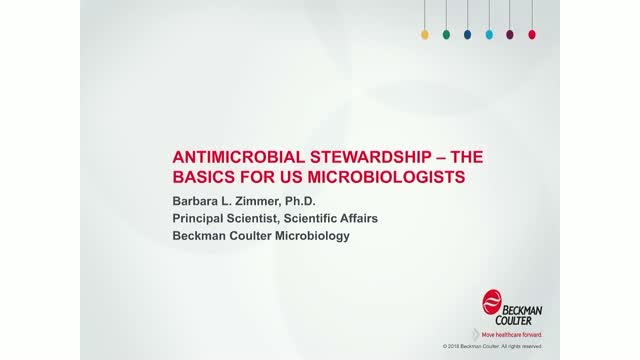 Antibiotic Stewardship: The Basics for U.S. Microbiologists