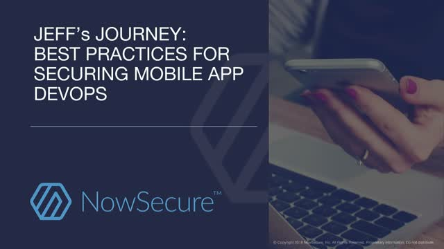 Best Practices for Securing Mobile App DevOps