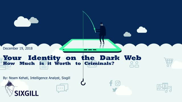 Your Identity on the Dark Web: How Much is it  Worth to Criminals?