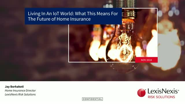 Living in an IoT World: What this means for the future of Home Insurance
