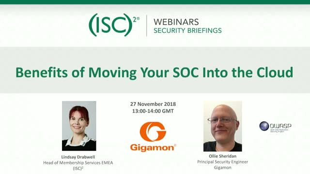Benefits of Moving Your SOC Into the Cloud