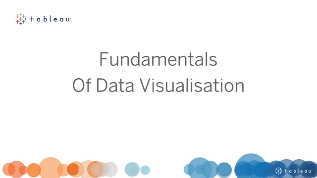 Fundamentals of Data Visualisation