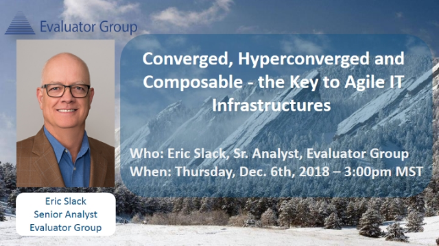 Converged, Hyperconverged and Composable - The Key to Agile IT Infrastructures