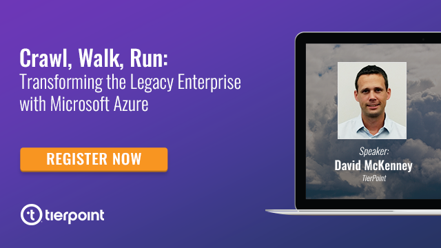 Crawl, Walk, Run: Transforming the Legacy Enterprise with Microsoft Azure