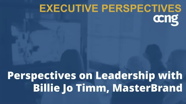 Perspectives on Leadership with Billie Jo Timm