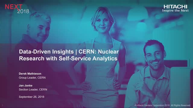 CERN: Nuclear Research With Self-Service Analytics