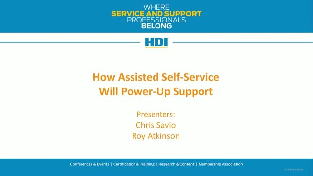 How Assisted Self-Service Will Power Up Support