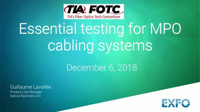 Essential Testing for MPO Systems