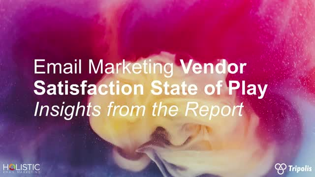 Email Marketing Vendor Satisfaction – Insights from the Report
