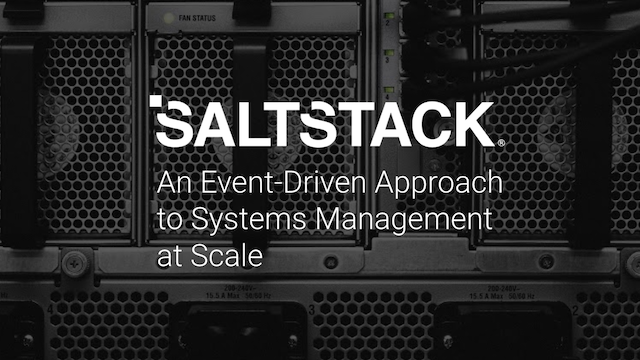 An Event-Driven Approach to Systems Management at Scale