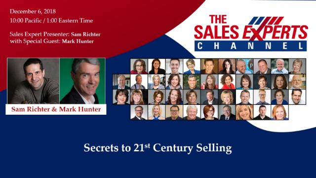 Secrets to 21 st Century Selling