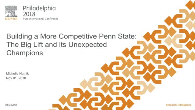 Building a More Competitive Penn State: The Big Lift and its Unexpected Champion