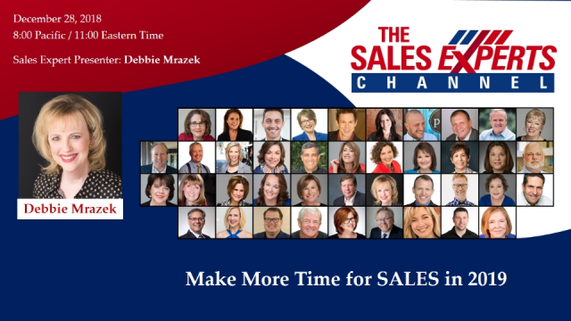 Make More Time for SALES in 2019