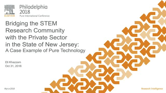 #PRCN2018: Bridging the STEM Research Community with the Pvt Sector in NJ