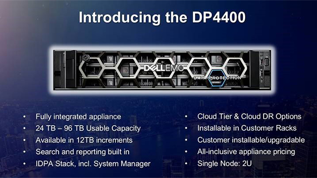 Dell EMC Data Domain/DPS Webinar