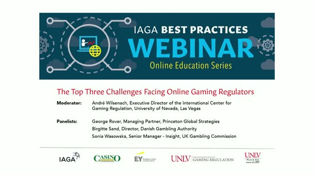 The Top Three Challenges Facing Online Gaming Regulators