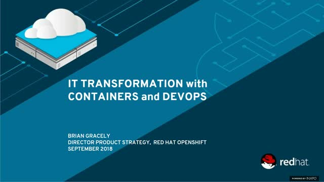 IT transformation with containers and DevOps