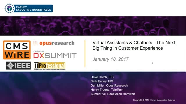 Chatbots & Virtual Assistants - The Next Big Thing in Customer Experience