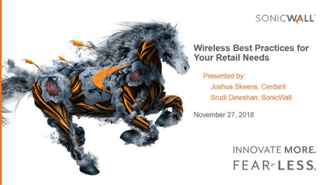 Wireless Best Practices for Your Retail Needs