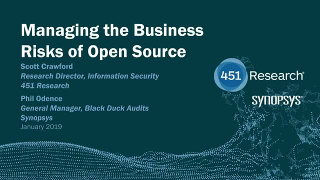 Managing the Business Risks of Open Source